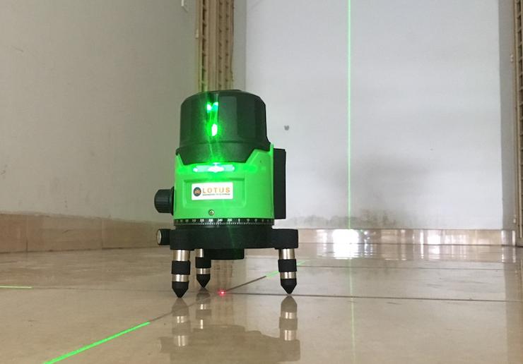 Các loại máy cân mực laser và ứng dụng của chúng