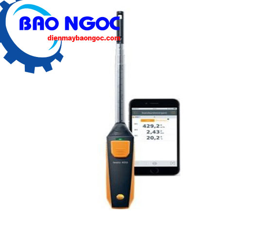 Máy đo vận tốc gió testo 405i - Thiết bị đo môi trường