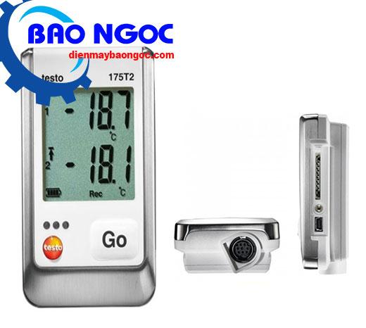 Máy đo nhiệt độ tự ghi dữ liệu Testo 175 T2