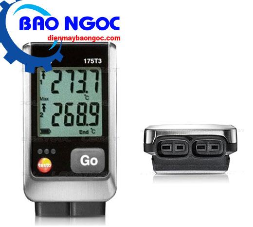 Máy đo nhiệt độ tự ghi dữ liệu Testo 175 T3