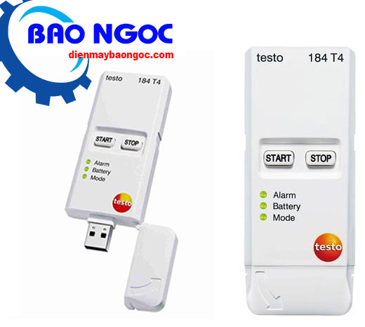 Máy đo nhiệt độ tự ghi testo 184-T4