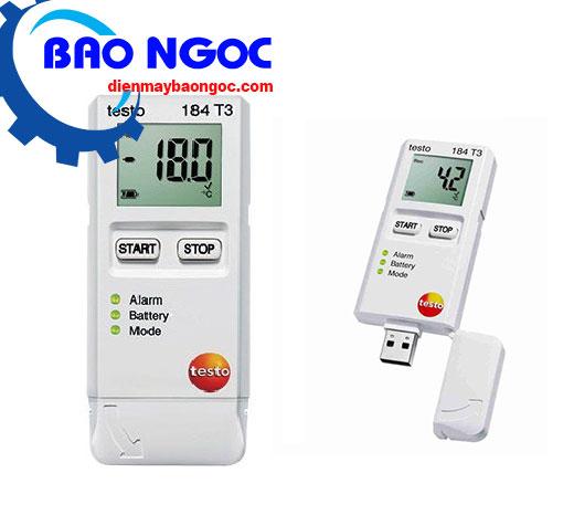 Máy đo nhiệt độ tự ghi testo 184-T3