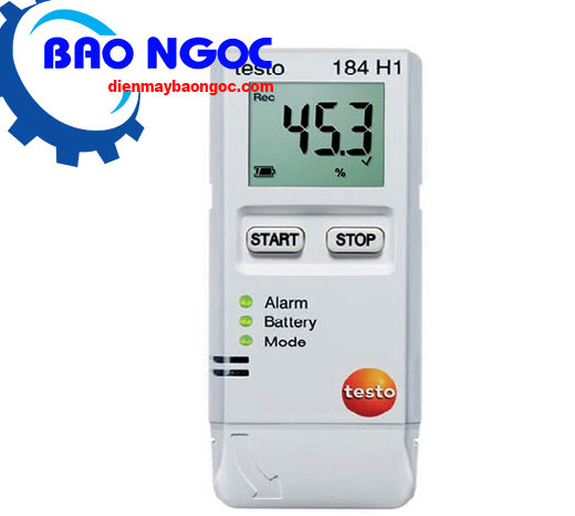 Máy đo nhiệt độ tự ghi testo 184H1