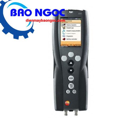 Máy đo áp suất và xác định khí rò rỉ testo 324