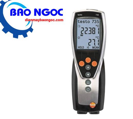 Máy đo nhiệt độ testo 735-2