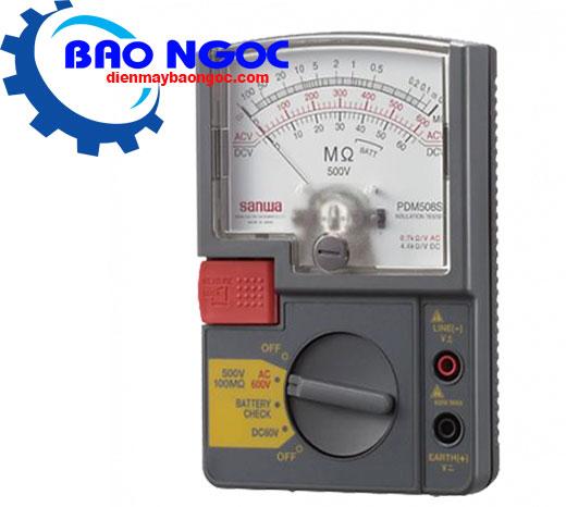 Máy đo điện trở cách điện Sanwa PDM508S