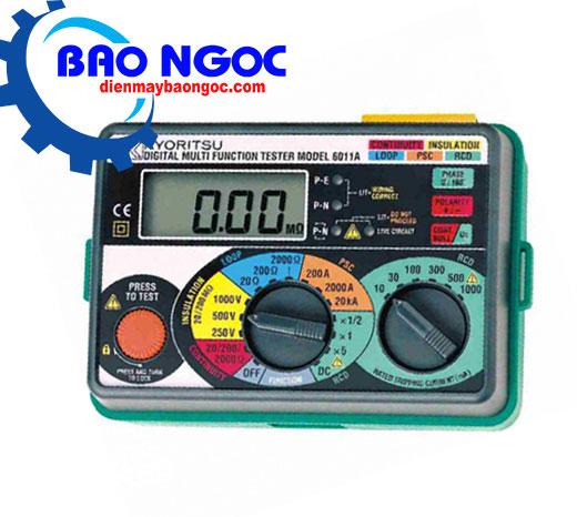 Thiết bị đo nhiều chức năng KYORITSU 6011A