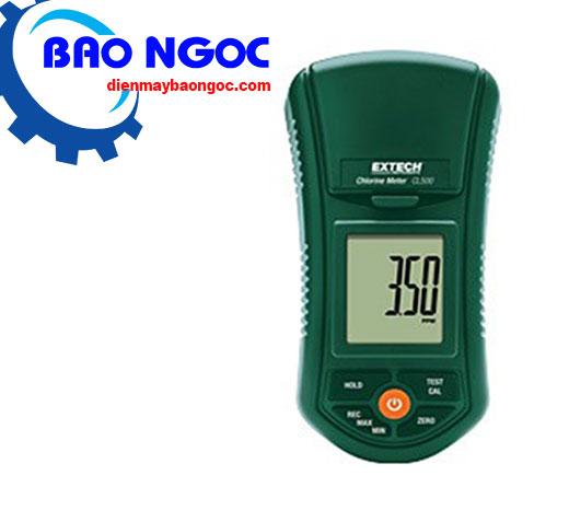 Máy đo cầm tay clo tự do và tổng Extech CL500
