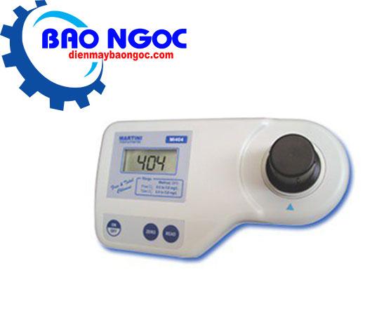 Máy đo Chlorine tự do và Chlorine tổng MARTINI Mi404