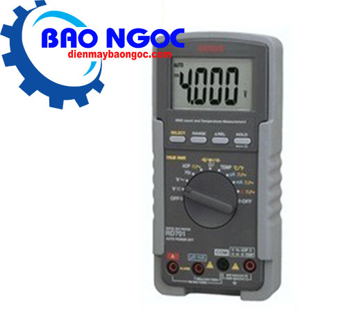 Đồng hồ vạn năng Sanwa RD701 (True RMS, 0.3%)