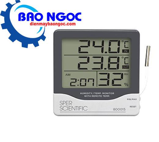 Máy đo nhiệt độ độ ẩm SPER SCIENTIFIC 800015