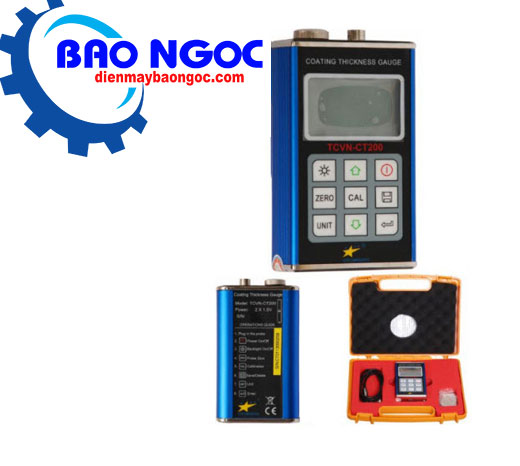 Máy đo độ dày lớp sơn phủ TCVN-CT200 - Thiết bị đo cơ khí