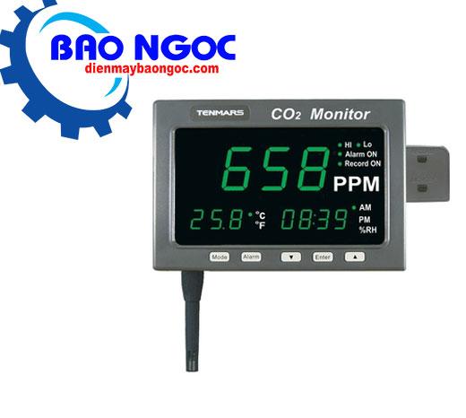 Máy đo khí CO2 nhiệt độ độ ẩm Tenmars TM-187