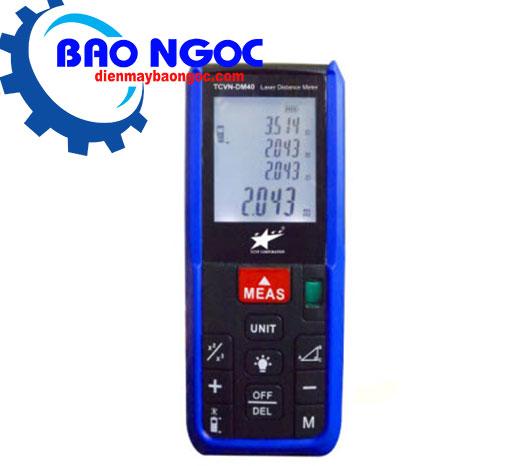 Máy đo khoảng cách laser TCVN-DM40 - Thiết bị đo
