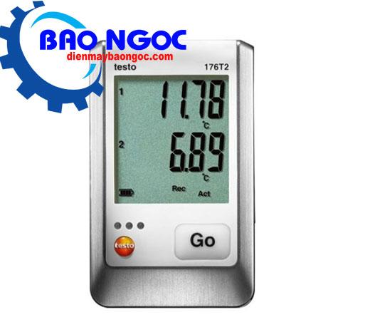 Thiết bị tự ghi nhiệt độ Testo 176-T2