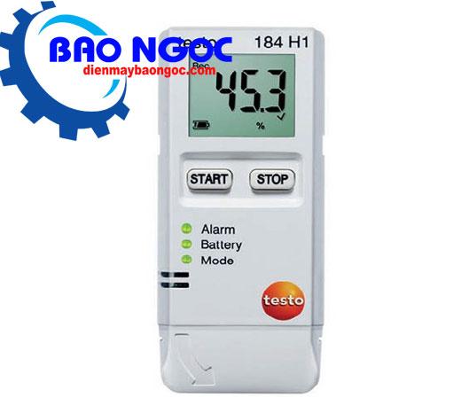 Thiết bị tự ghi nhiệt độ và độ ẩm Testo 184H