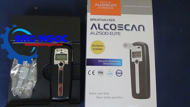 Máy đo nồng độ cồn Sentech AL-2500 - Thiết bị đo