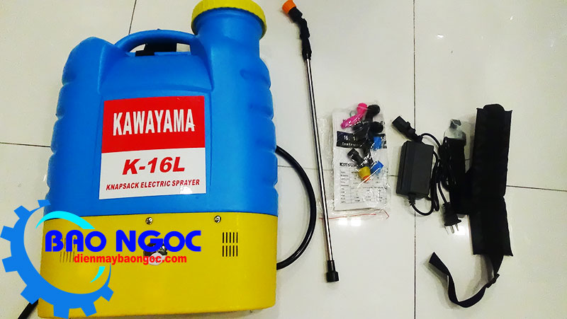 Máy phun thuốc trừ sâu bằng điện Kawayama K-16L