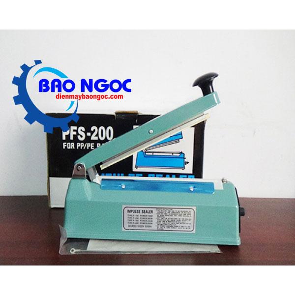 Máy hàn miệng túi PFS-200 vỏ sắt