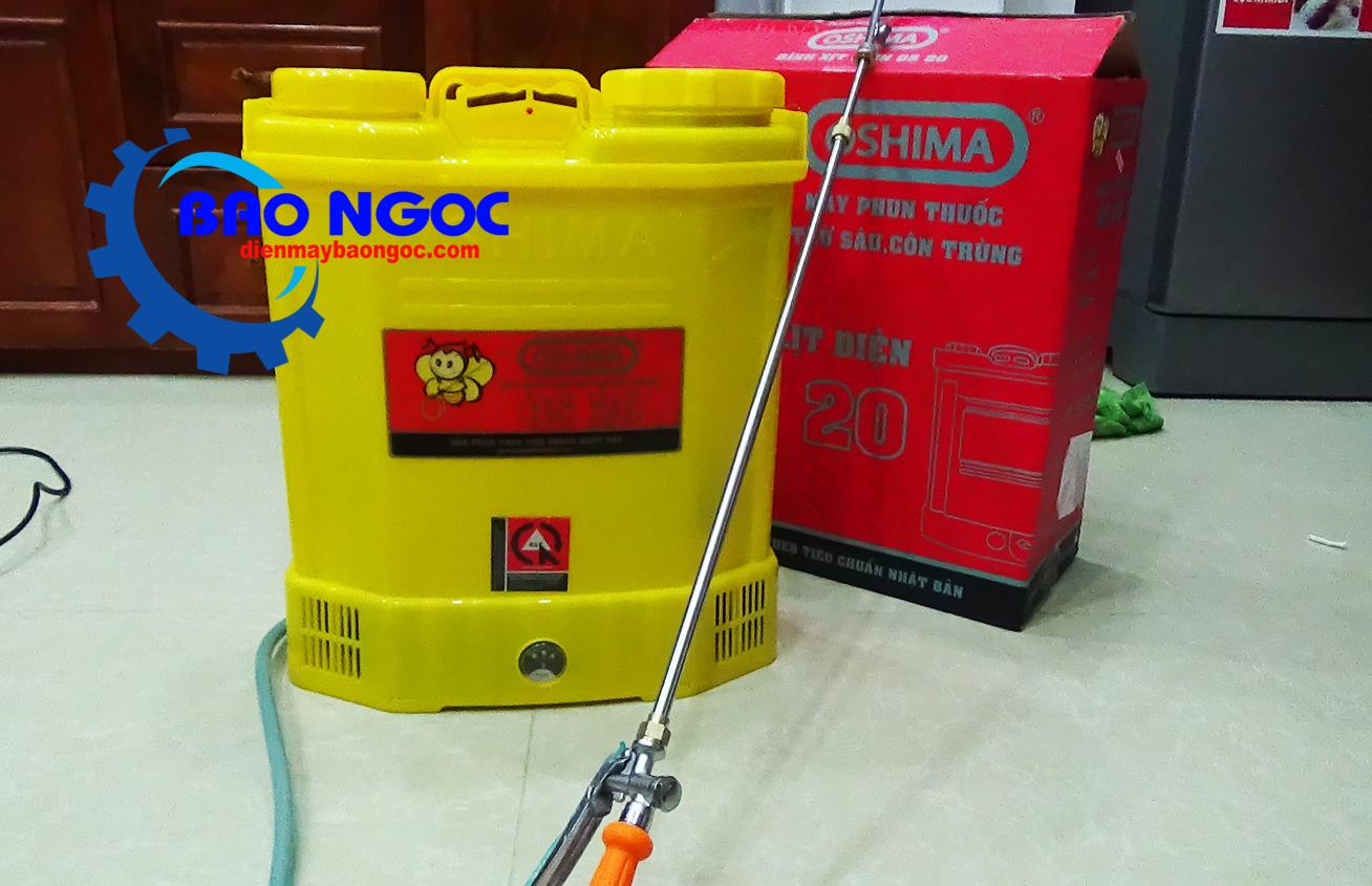 Máy phun thuốc bằng điện Oshima OS20