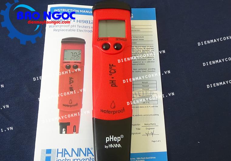 Bút đo pH Hanna HI98127 - Thiết bị đo môi trường