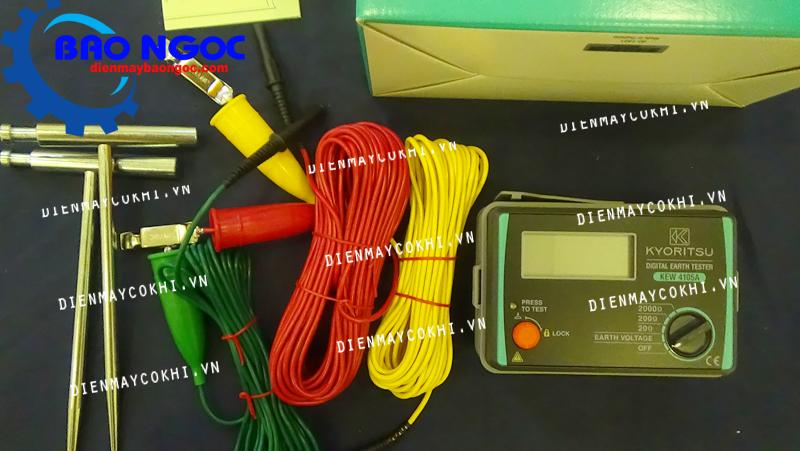 Máy đo điện trở đất KYORITSU 4105A - Thiết bị đo kiểm tra điện
