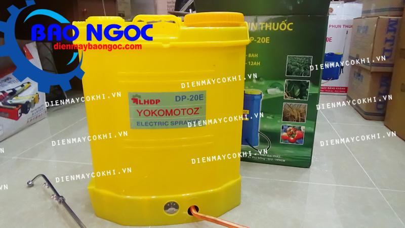 Máy phun thuốc chạy điện Yokomotoz DP 20E