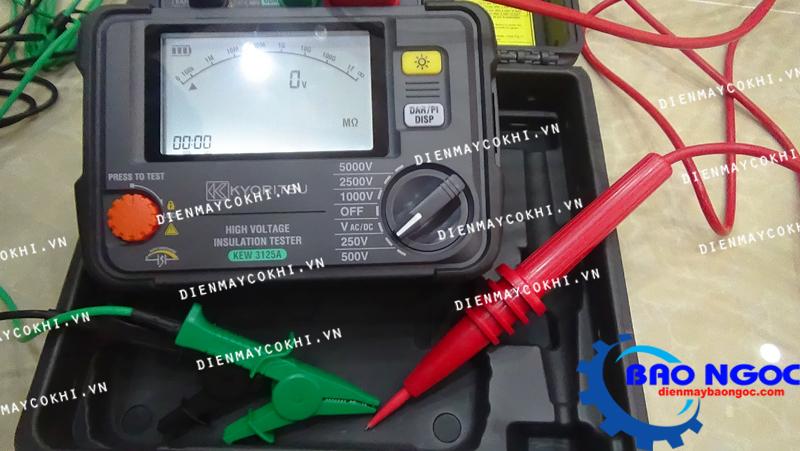Đồng hồ đo điện trở cách điện KYORITSU 3125A
