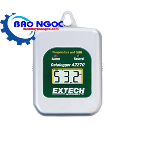 Bộ ghi dữ liệu nhiệt độ, độ ẩm Extech - 42270