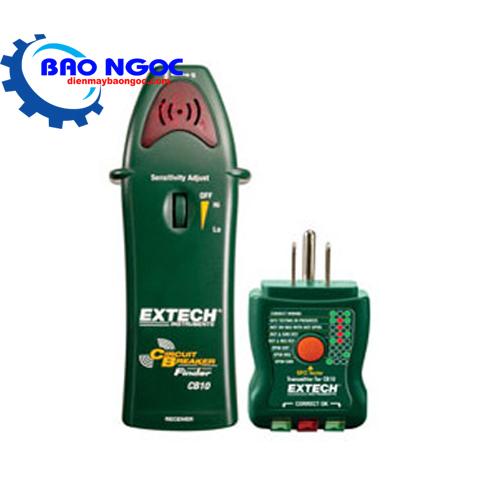 Máy kiểm tra hệ thống dây điện ổ cắm Extech CB10