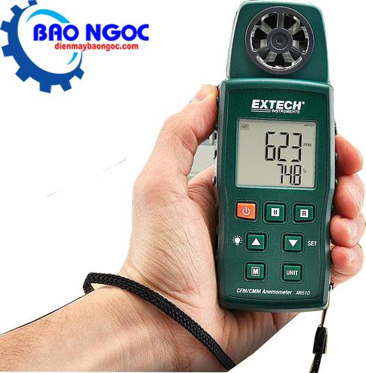 Máy đo vận tốc và lưu lượng gió, nhiệt độ EXTECH AN510